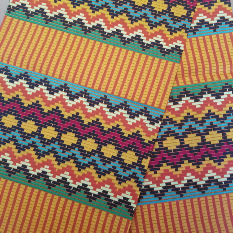 שעווה אפריקאית בדי גאנה קנט שעוות עיצובים פוליאסטר שעוות הדפסת בד