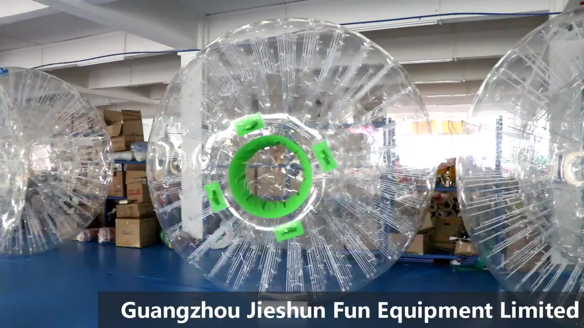 The top material 1.0mm TPU inflatable zorb ball inflatable grass zorbing ball human hamster ball for adults & kids