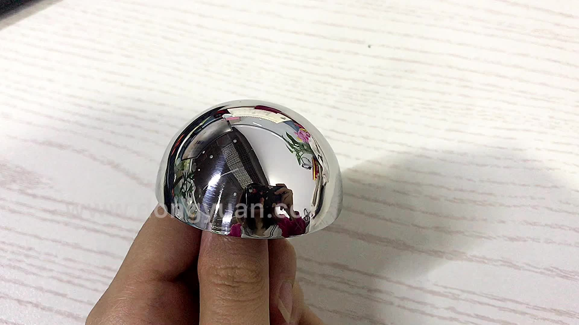 Polished Outside Surface Stainless Steel Hemisphere / 304 Half Steel Ball