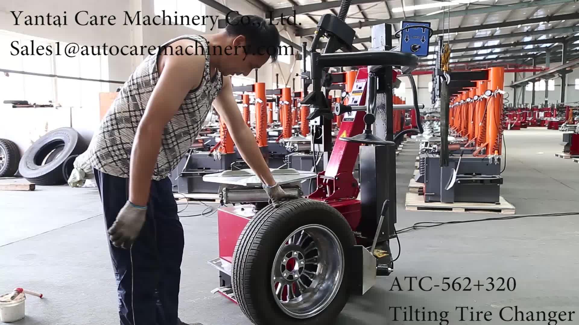 ATC-562 + 320 Kantelen Band Wisselaar Machine met rechts arm