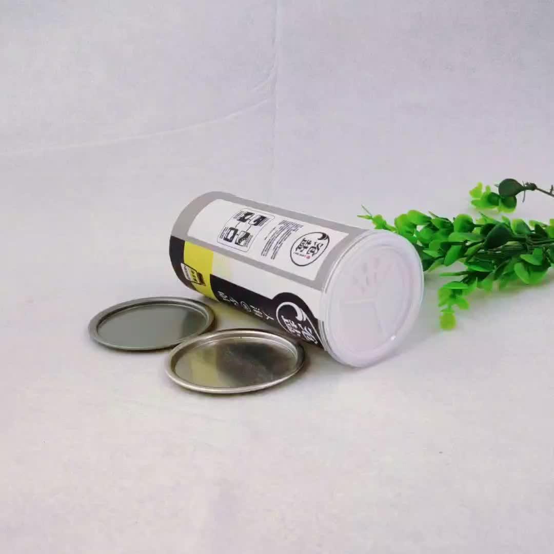 Custom Printing Paper Tube Salt Packaging Any size