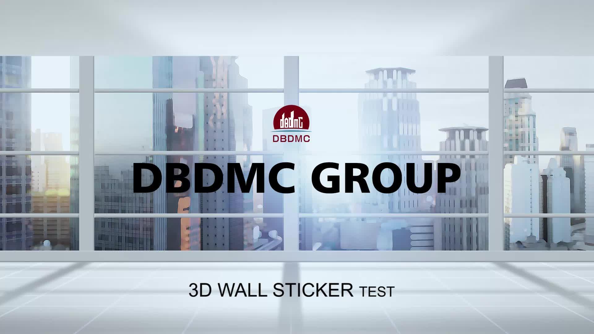 Hoge kwaliteit 3D muur panel sticker voor muur anti-collision 3D behang/kleurrijke home decor 3D wandpaneel