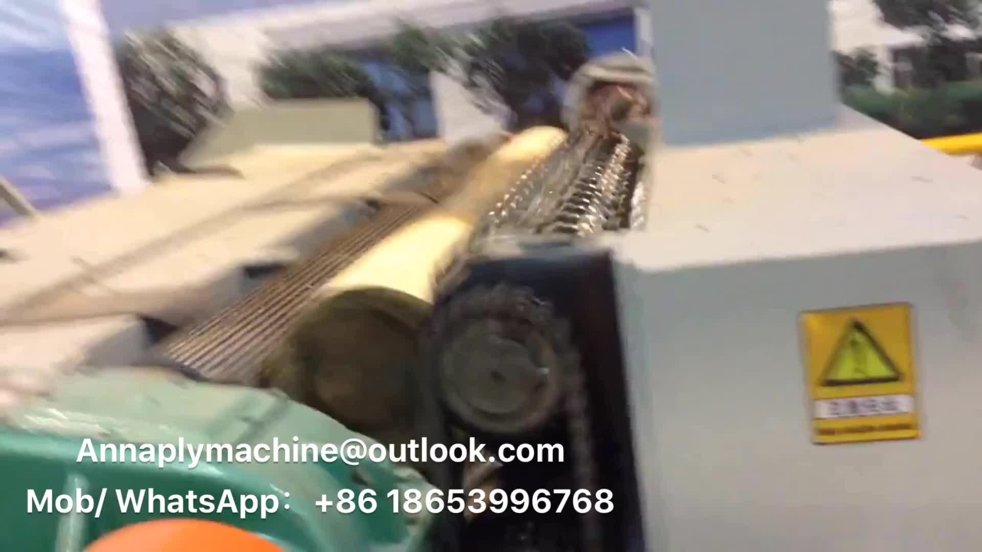 4/8 Piedi Log Debarker per legno compensato/log debarker macchina per la vendita