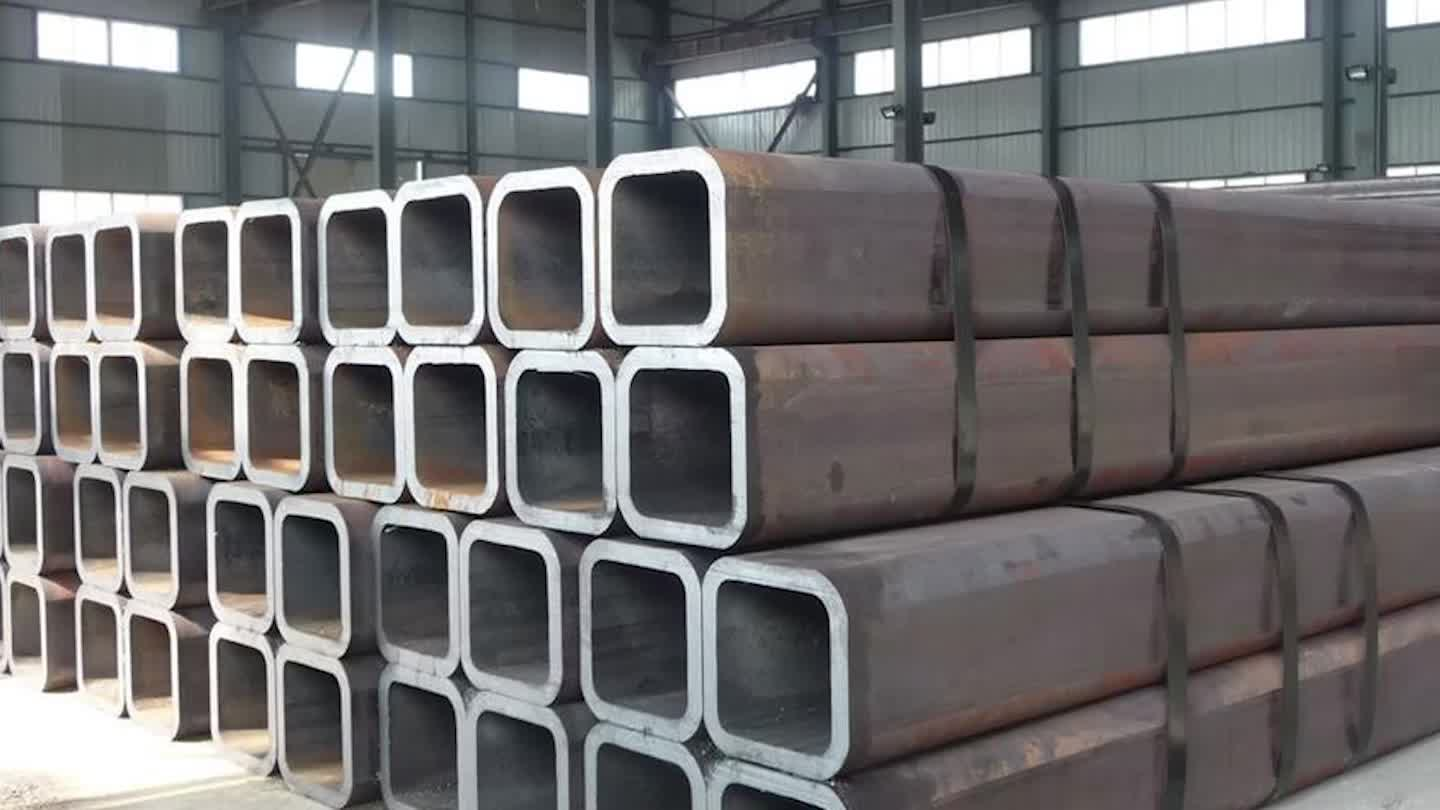 Manufacturer preferential supply High quality ST37 square steel pipe/S275JR Black Square Steel Pipe/SS400 square steel pipe