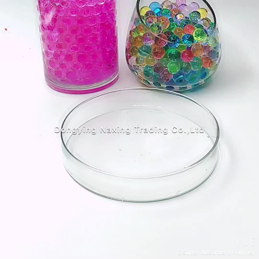 Siêu thấm polymer thấm nước polymer quả bóng nước gel hạt