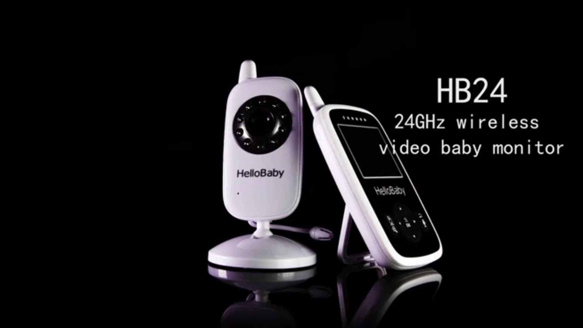 2.4 Inch Digital baby safety camera Infrared Night Vision baby sitter Wireless Baby Monitor