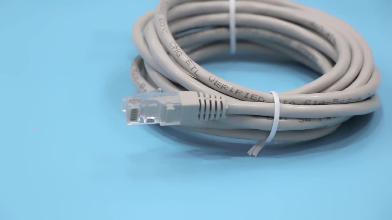 15m Outdoor cat 6 Cat 7 Network Patch Cord Rj45 Sftp Utp 4P 5 Ethernet Shielded Cat5 D-Link Ftp Cat6 Lan Cable
