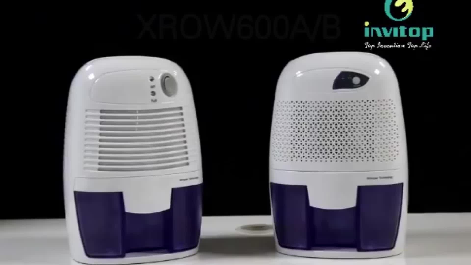 High quality 500ml mini dehumidifier portable car,2 in 1 humidifier house dc powered dehumidifier