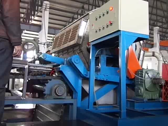 Egg tray production line Pulp moulding machine for coffee cup tray holder high-tech paper recycling equipment