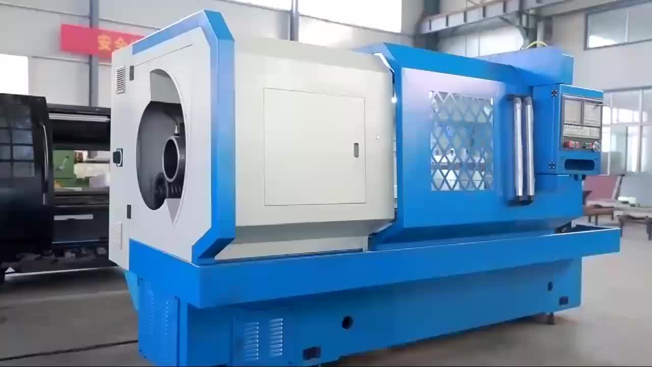 Manufacturer Horizontal Oil Country Lathe Machine CNC Pipe Thread Lathe Machine