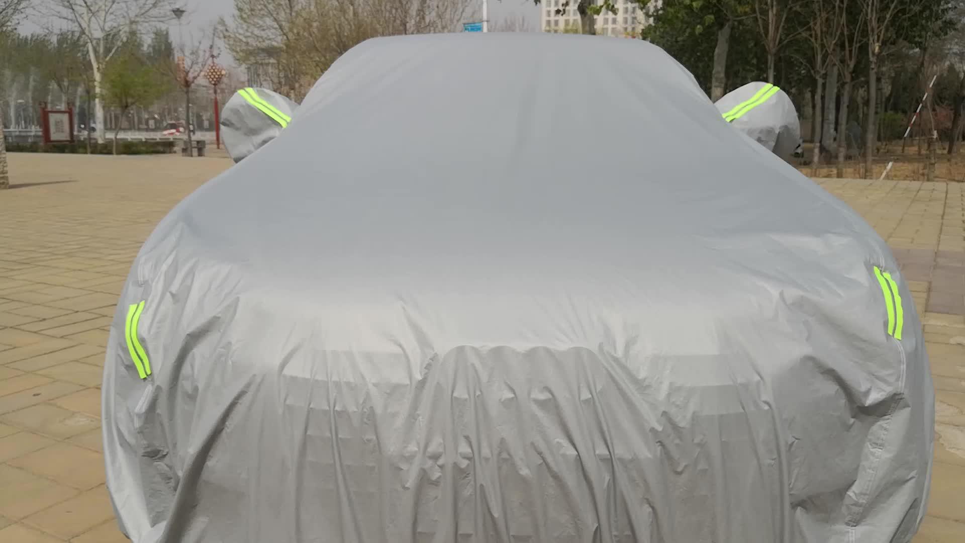 Tam vücut su geçirmez ve Anti-UV araba kılıfı özel araba kılıfı