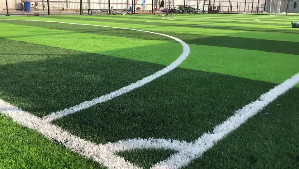 ASHER Formazione erba tappeto erboso di calcio utilizzato artificiale campo di calcio in erba artificiale
