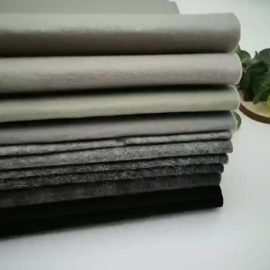 Heat resistant polyester nonwoven felt fabric for pan protector