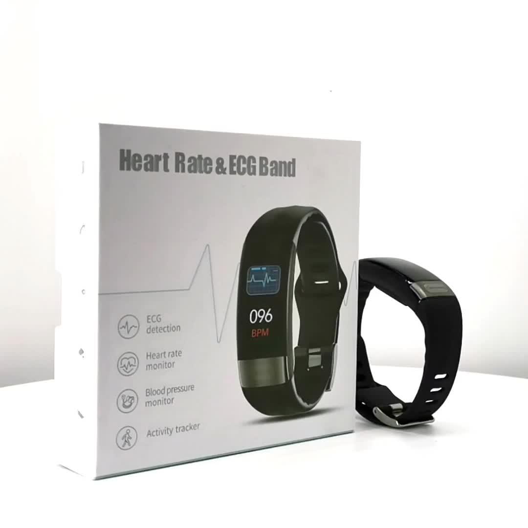 P11 Sport Smart Armband, Wasserdichte Intelligente Fitness Tracker mit Herz Rate Monitore Fitness Sport Smart Armband