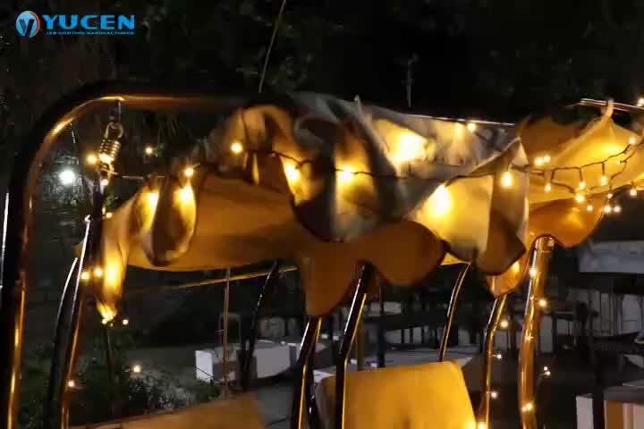 7m 100 נוריות צבעים חג המולד led מחרוזת אורות