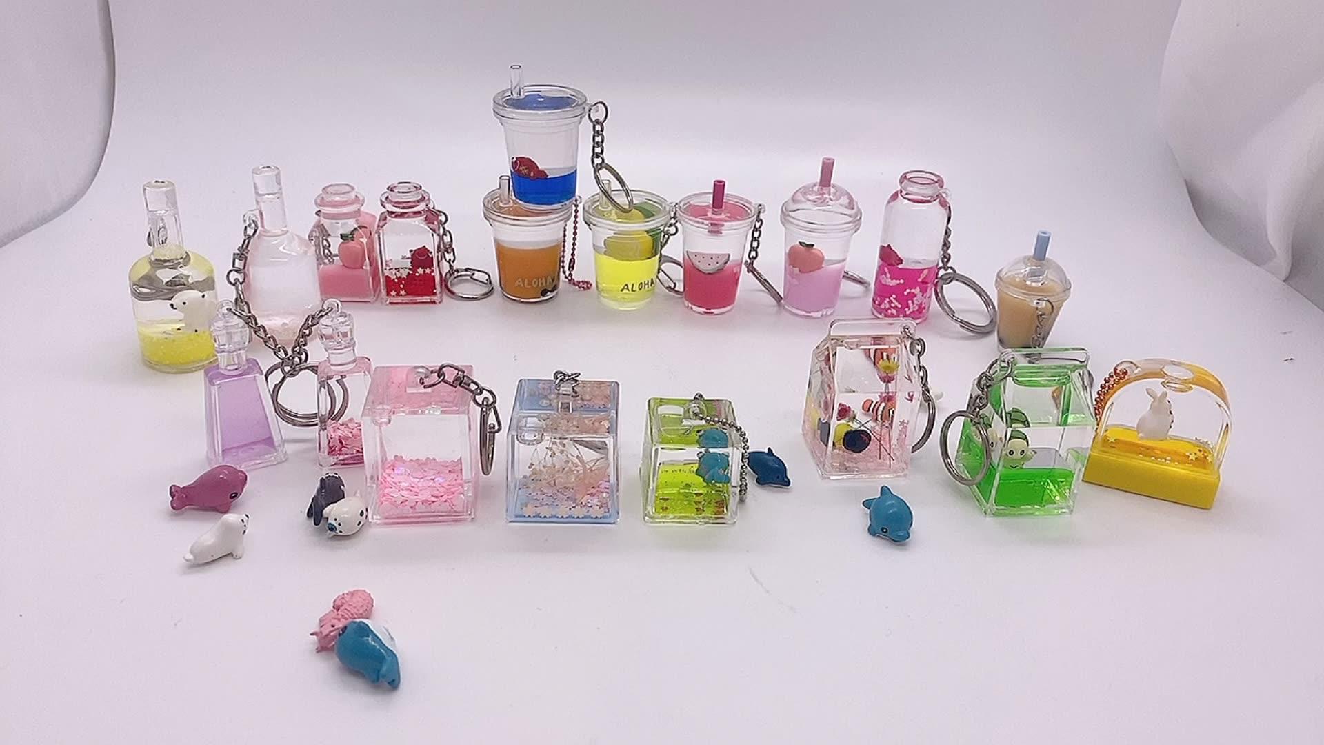 Porte-clés de marque pour femmes, en forme de bouteille de parfum, mignon, nouveau, 2021