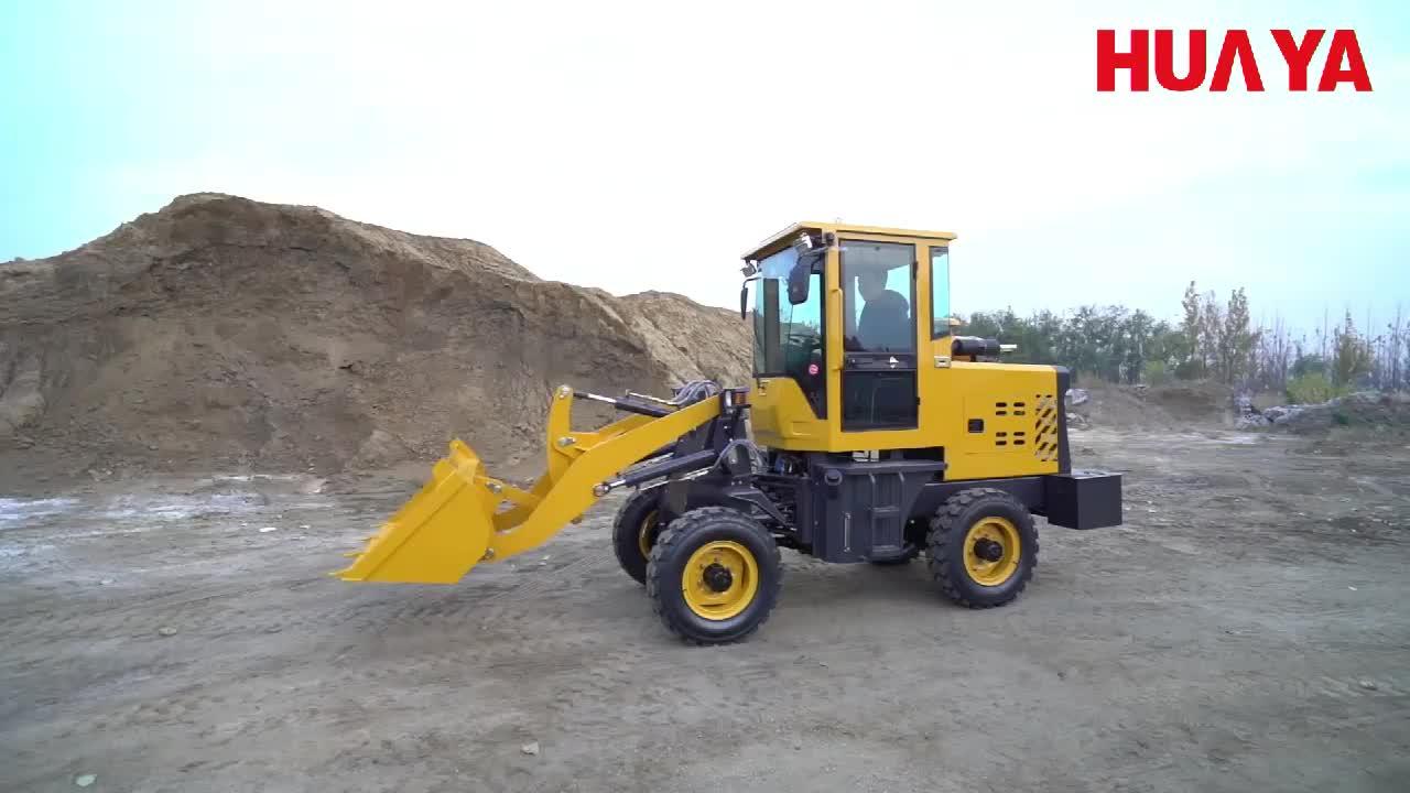 China Huaya Baru Wheel Loader Peralatan Mesin ZL910 Loader