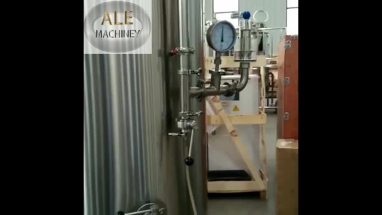 Jinan ALE 2000l 3000l Industrial Commerical Large Beer Brewing Brewery Equipment For Sale