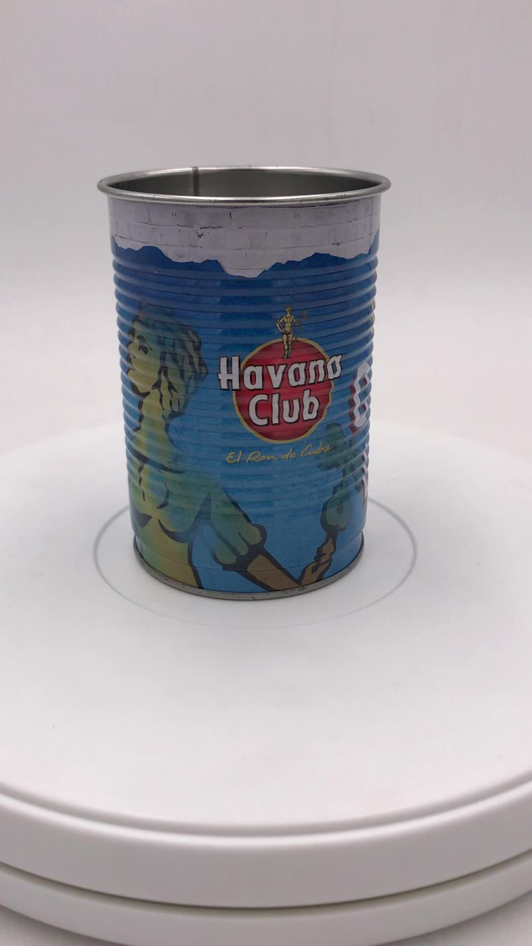 东莞精诚12-15盎司防漏水杯罐 东莞精诚一次性鸡尾酒杯罐定制厂家
