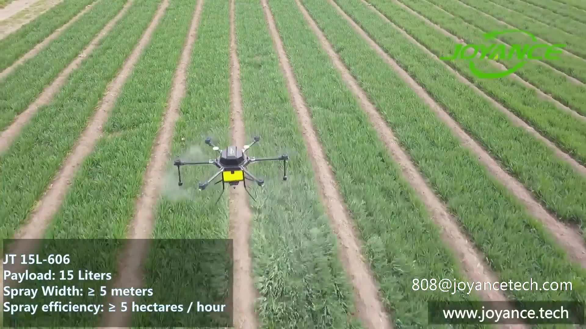 Dron デ fumigacion デ 15L/dron パラ fumigar とスマート農業センサー/rc ドローン噴霧器中国製
