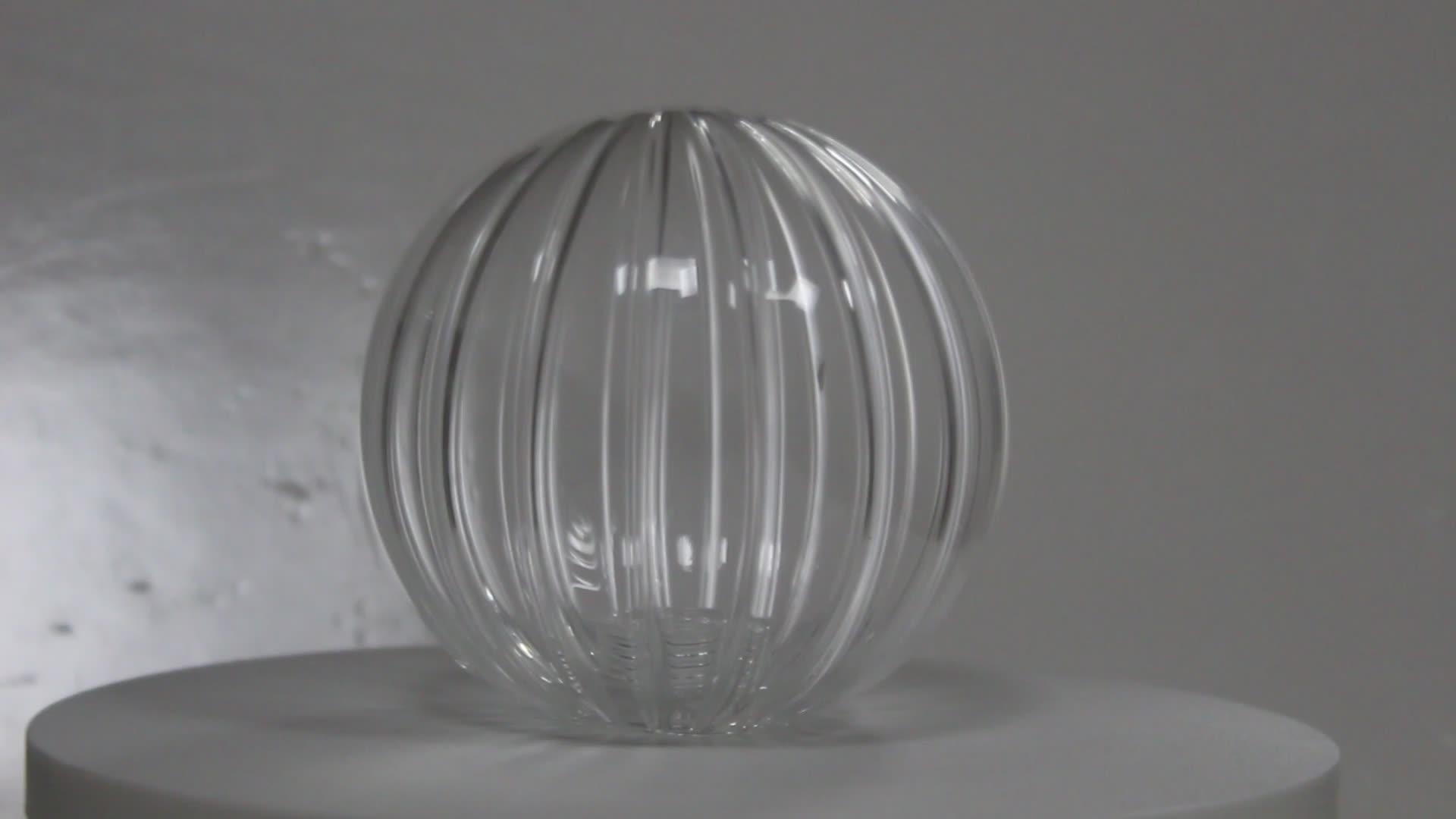 Fabriek Prijs Draad Transparant Borosilicaatglas Bal Lampenkap Groothandel