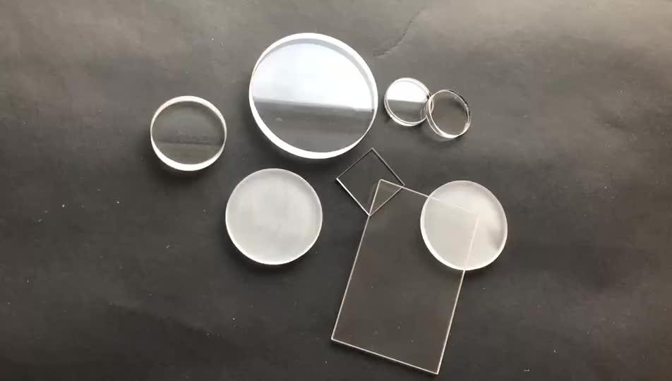 High Quality Quartz Plate hot resistant Clear Quartz Glass Wafer