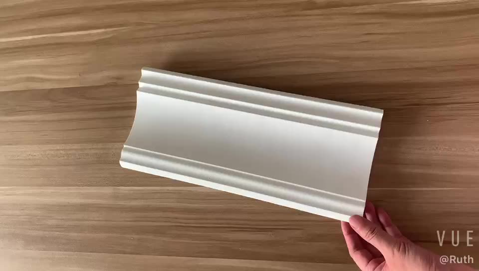 Guangzhou Best Quality PU Ceiling Moulding Lowes Gold Gypsum Crown Moulding