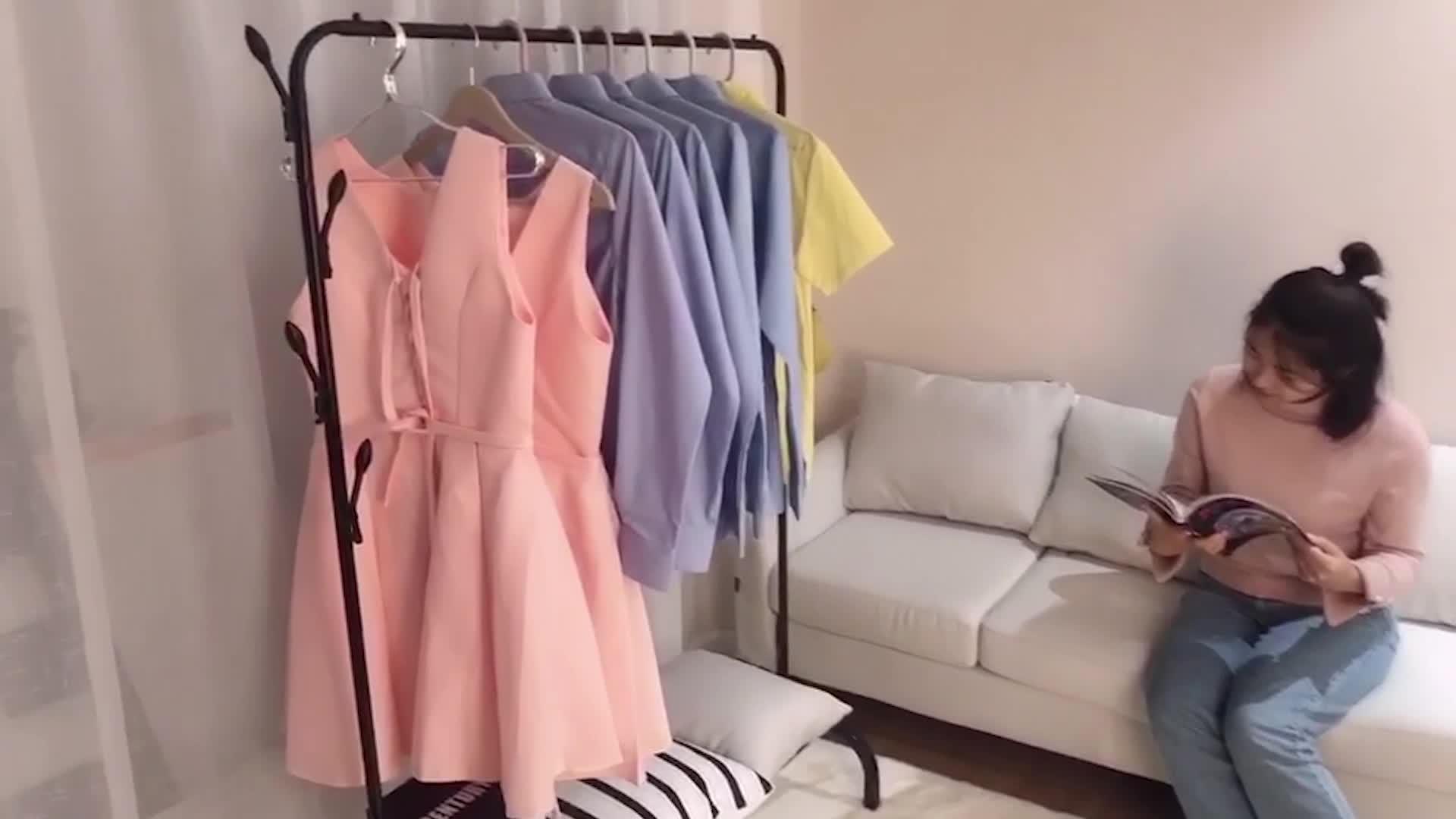 Appendiabiti asciugare i vestiti cremagliera per i vestiti essiccatori panno dryer basamento modello WN-1105G