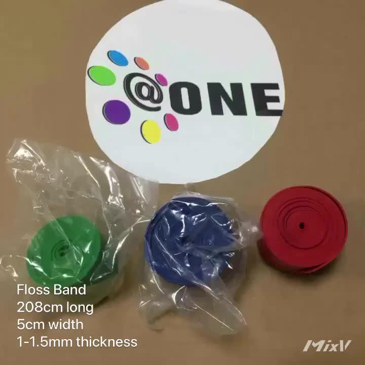Custom Wholesale Fitness Elastic Resistance Floss Band