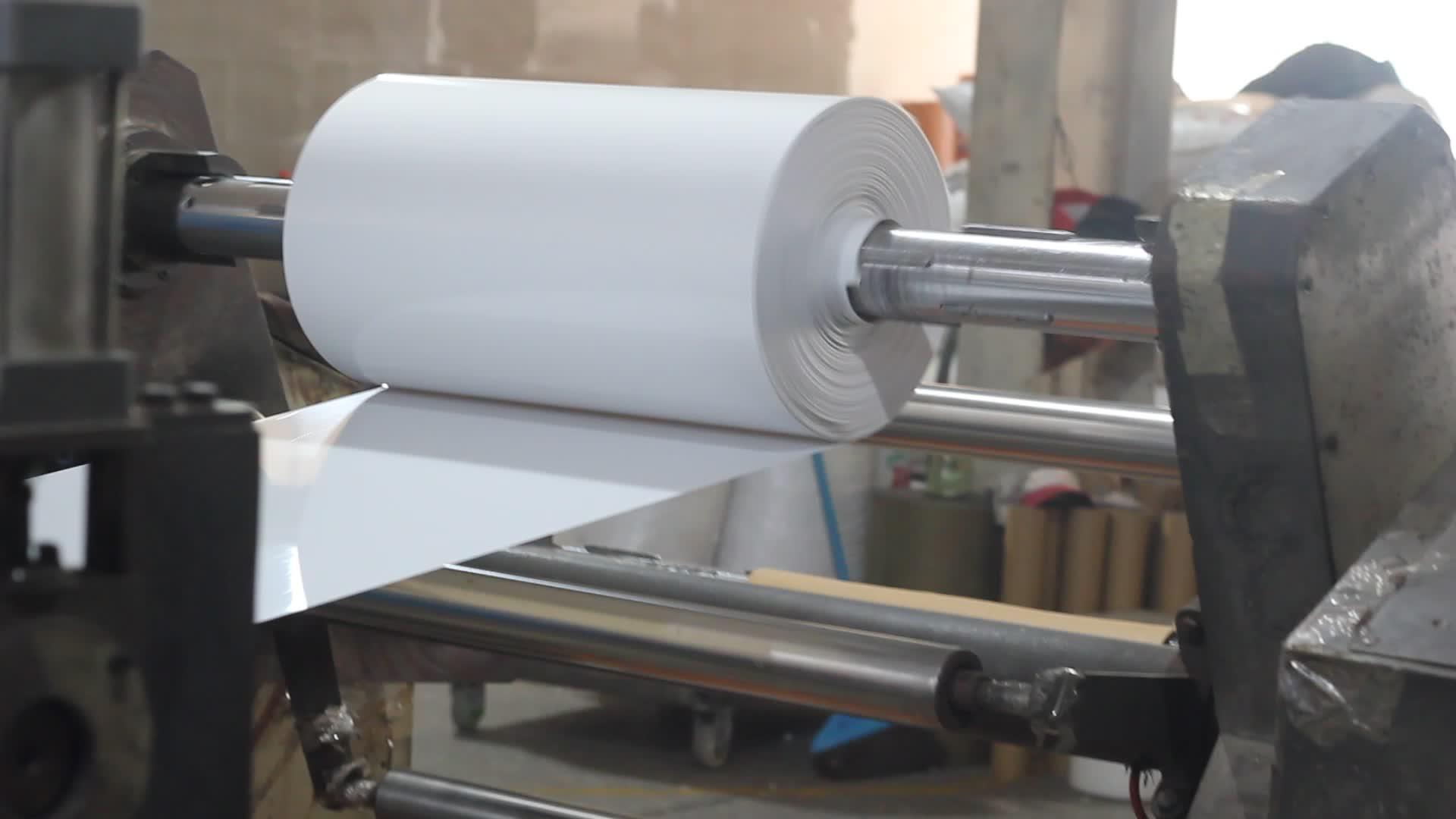 Witte Kleur Stijve PVC Plastic Sheet Roll voor Decoratie