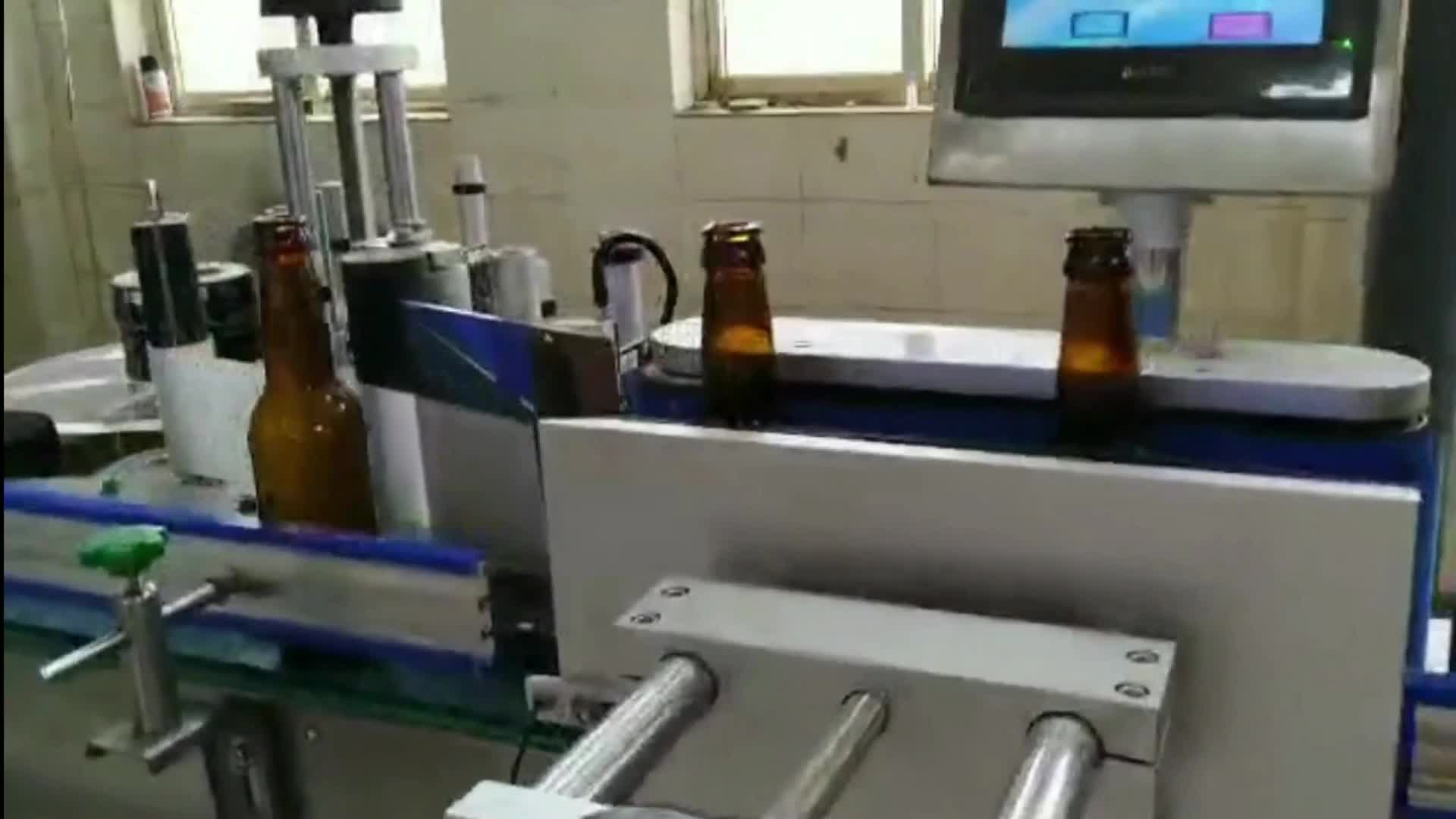 Automatic Sparkling Beer Wine Glass Bottle Filling Machine Factory Price