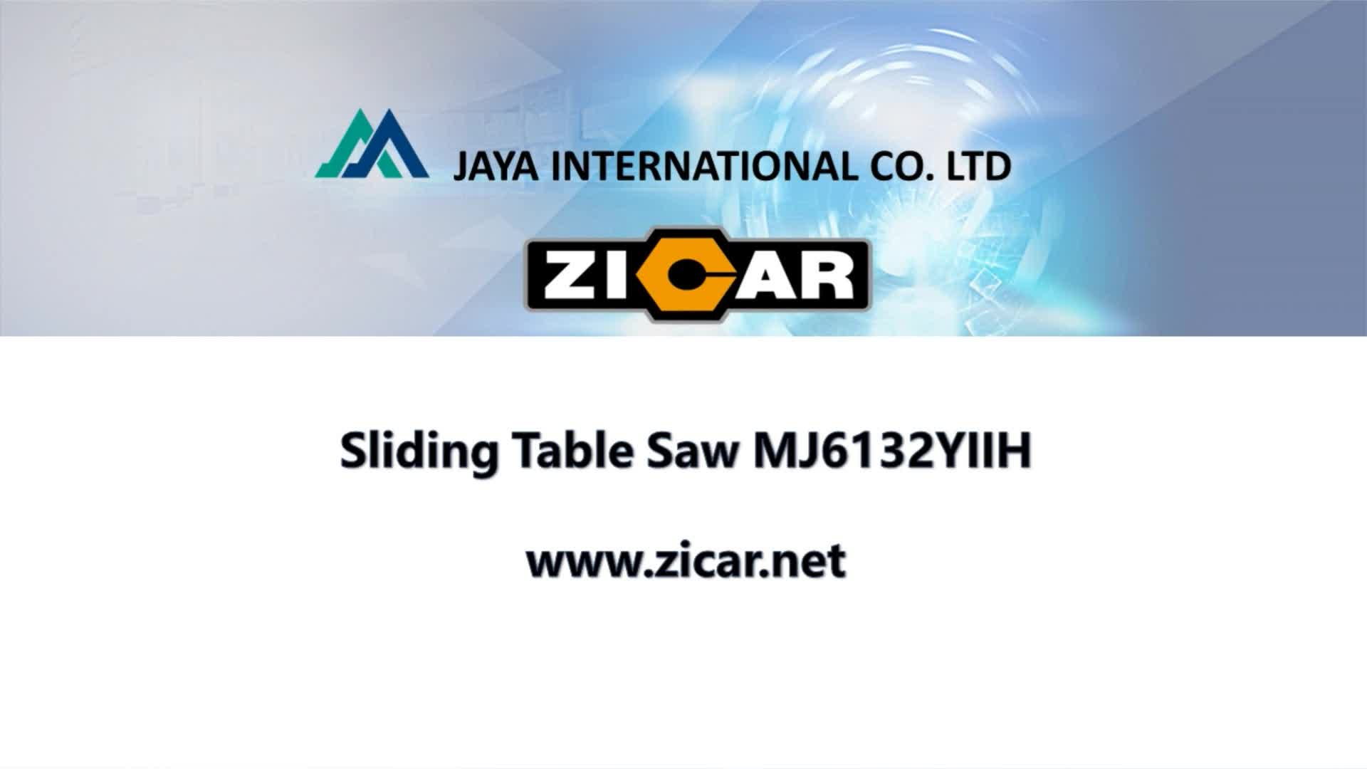 ZICAR MJ6132YIIH 3200mm high quality of sliding table panel saw machine with woodworking