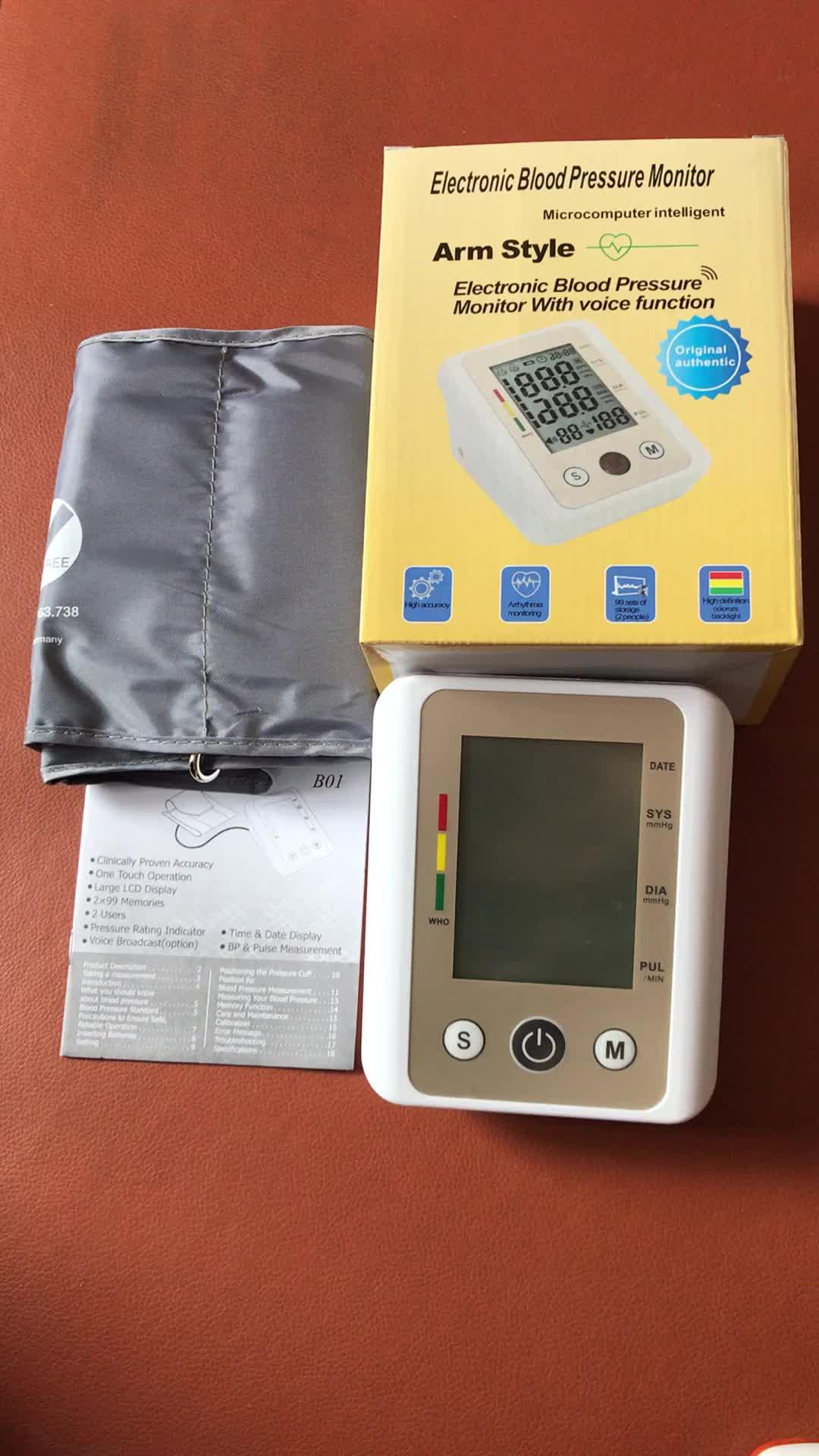 Новый Золотой цвет дешевая цена автоматический портативный тип верхней руки цифровой Сфигмоманометр a bp метр цифровой монитор артериального давления