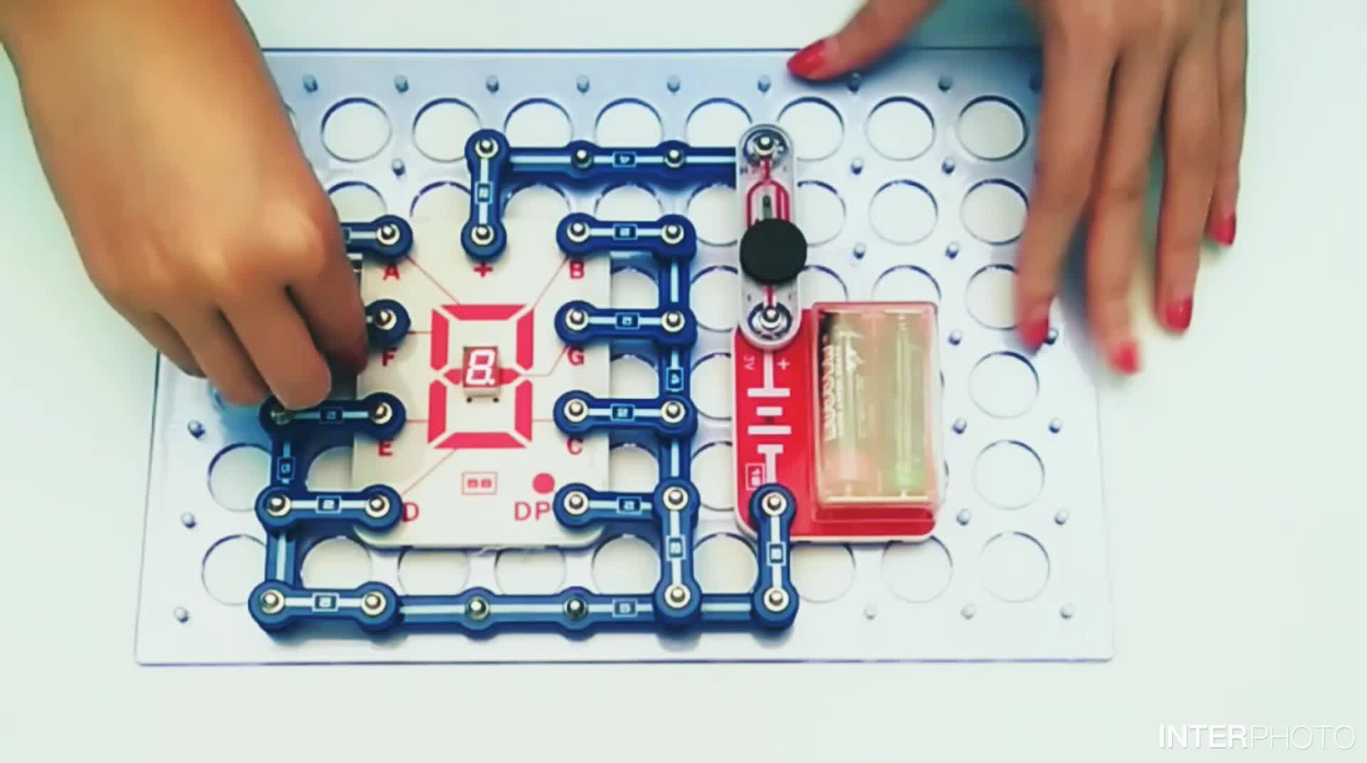 الأسهم الأصلية اللعب الإلكترونية مغناطيس toysNew البناء