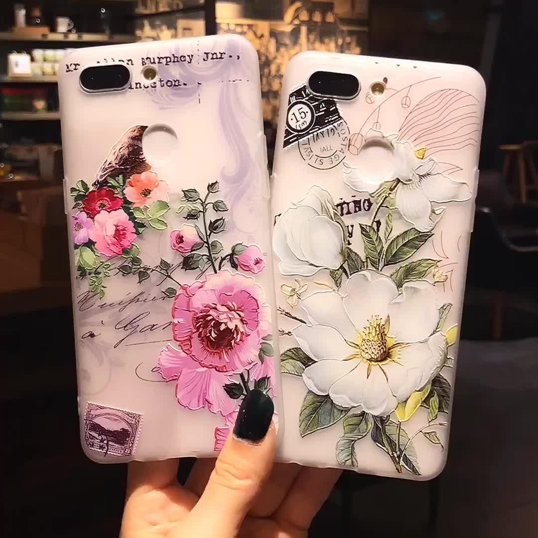 Ücretsiz kargo 3D çiçek temizle iPhone için kılıf XR toptan ucuz fiyat şeffaf TPU cep telefonu iPhone 11 Xi X Xs max