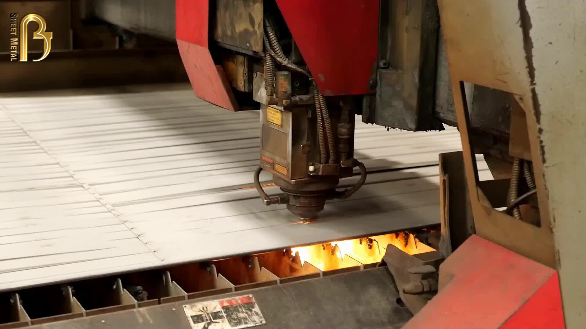 Custom Aluminum Fabrication Stamping Parts Steel Bending Metal Deep Aluminum Sheet Metal Parts