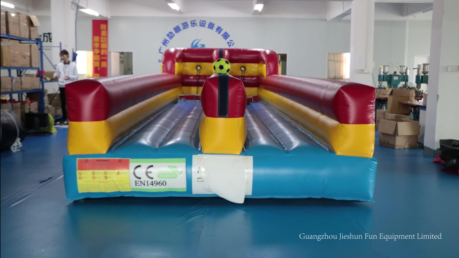 Высокое качество надувные спортивные игры конкурсный вызов гоночного оборудования два Lane надувные Bungee Run