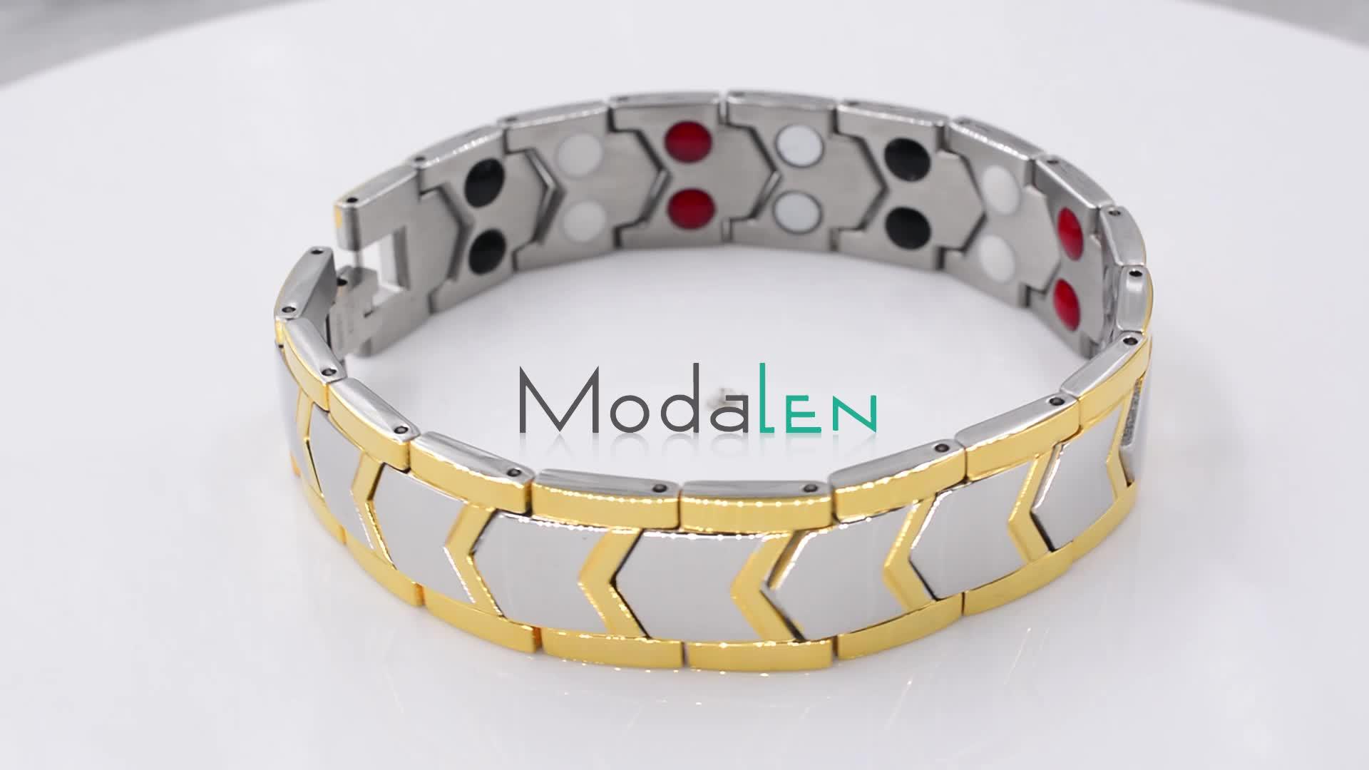 Modalen mens reine TA2 titan ionen power energi magnetische armband großhandel