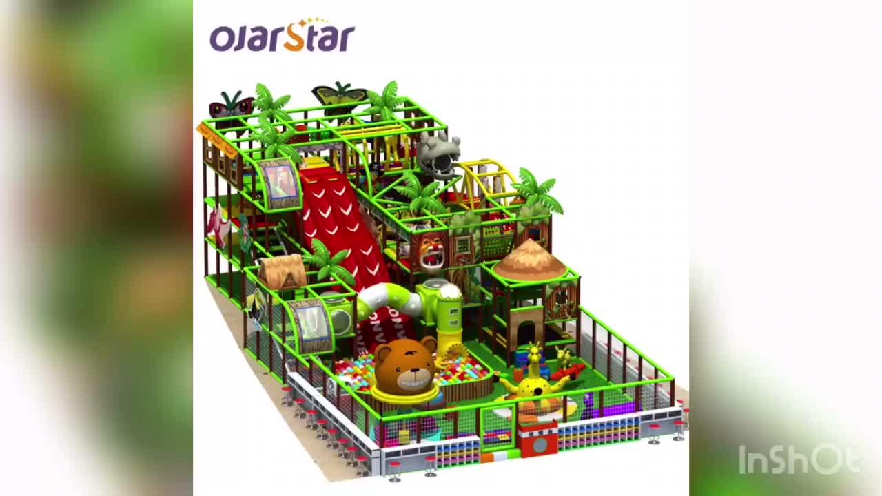 Worldstar commerciële kleine indoor speeltuin spelen gebied apparatuur voor kids