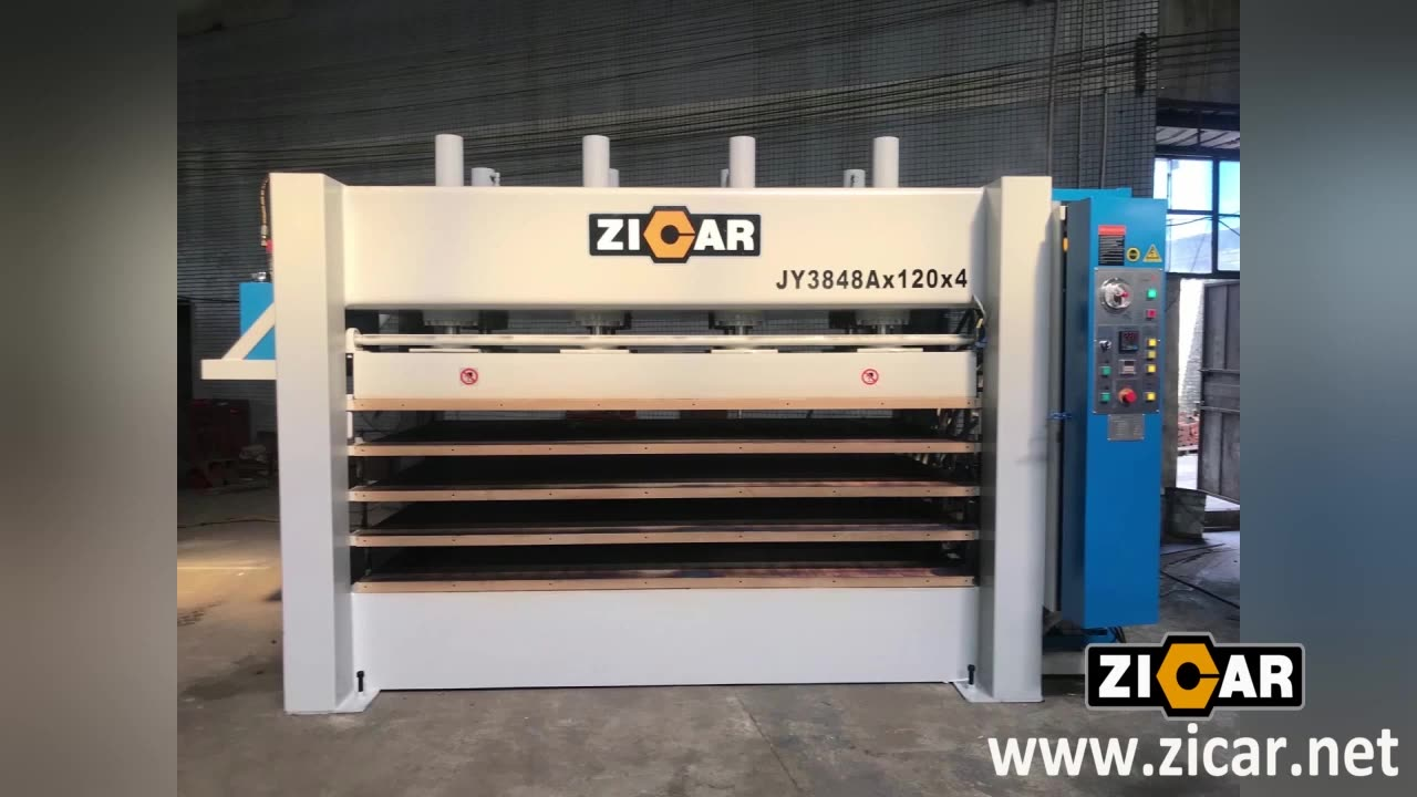 ZICAR JY3848AX120 Hot Press Machine