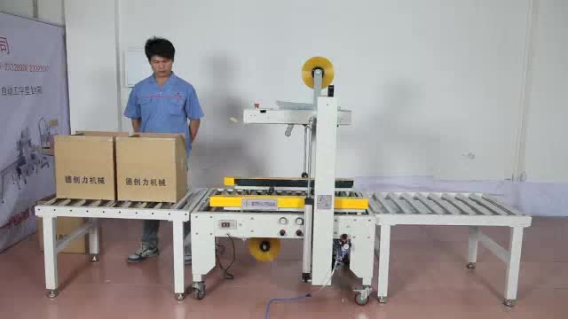 High Efficiency DPE-50 Semi-Automatic Taping Packing Machine
