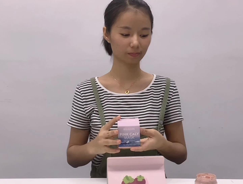 Roze Klei Masker Diepe Porie Reiniging En Natuurlijke Zuiverende Detox Whitening Huidverzorging Masker