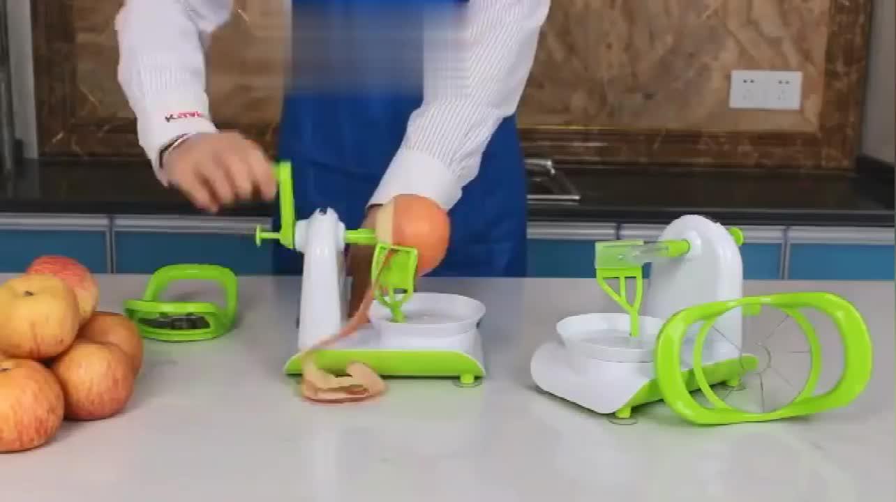 ผลไม้ผักเครื่องมือใหม่ผลิตภัณฑ์ครัว Gadget Multi - function แอปเปิ้ล Peeling เครื่องมือ Apple Peeler