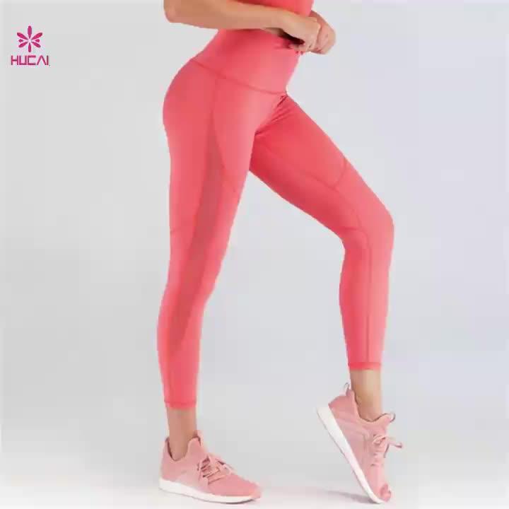 Wholesale women gym leggings custom fitness outdoor yoga sports wear
