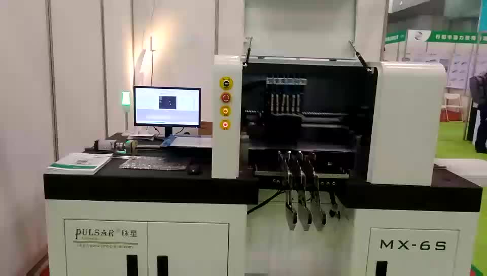 High Quality Fully Automatic High Speed SMT Pick and Place Machine from Jaguar Automation for PCB Assembly