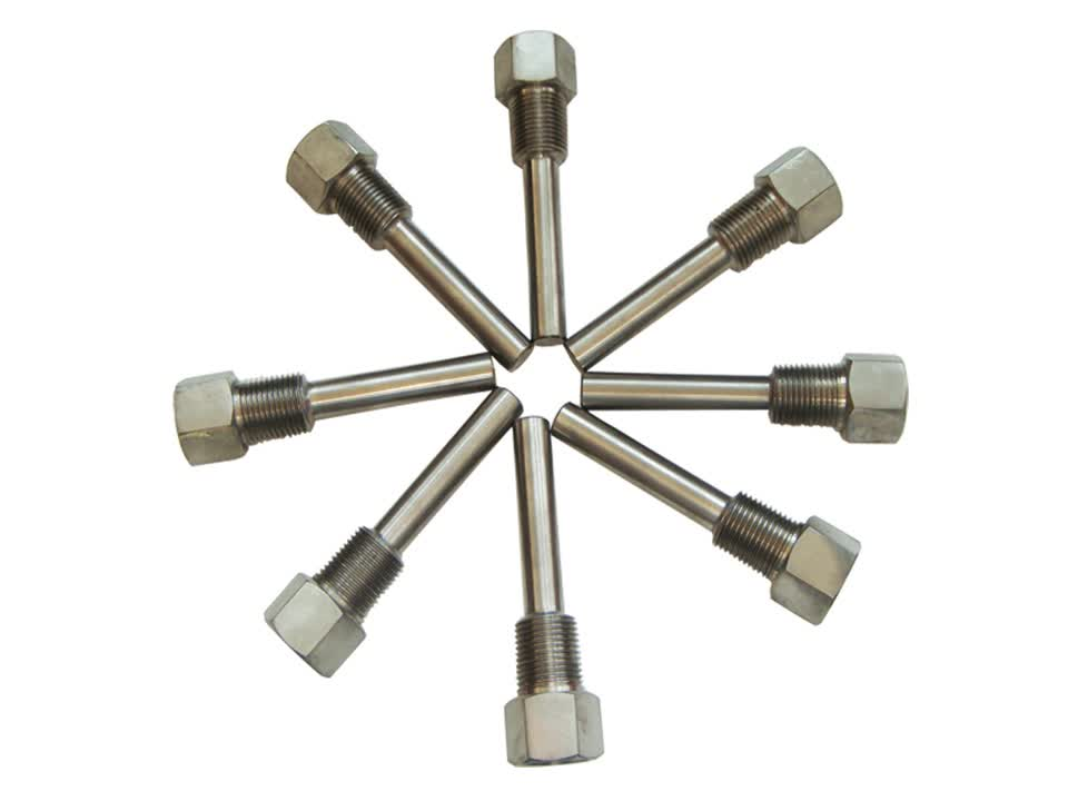 Stainless steel thermocouple weldless thermowell