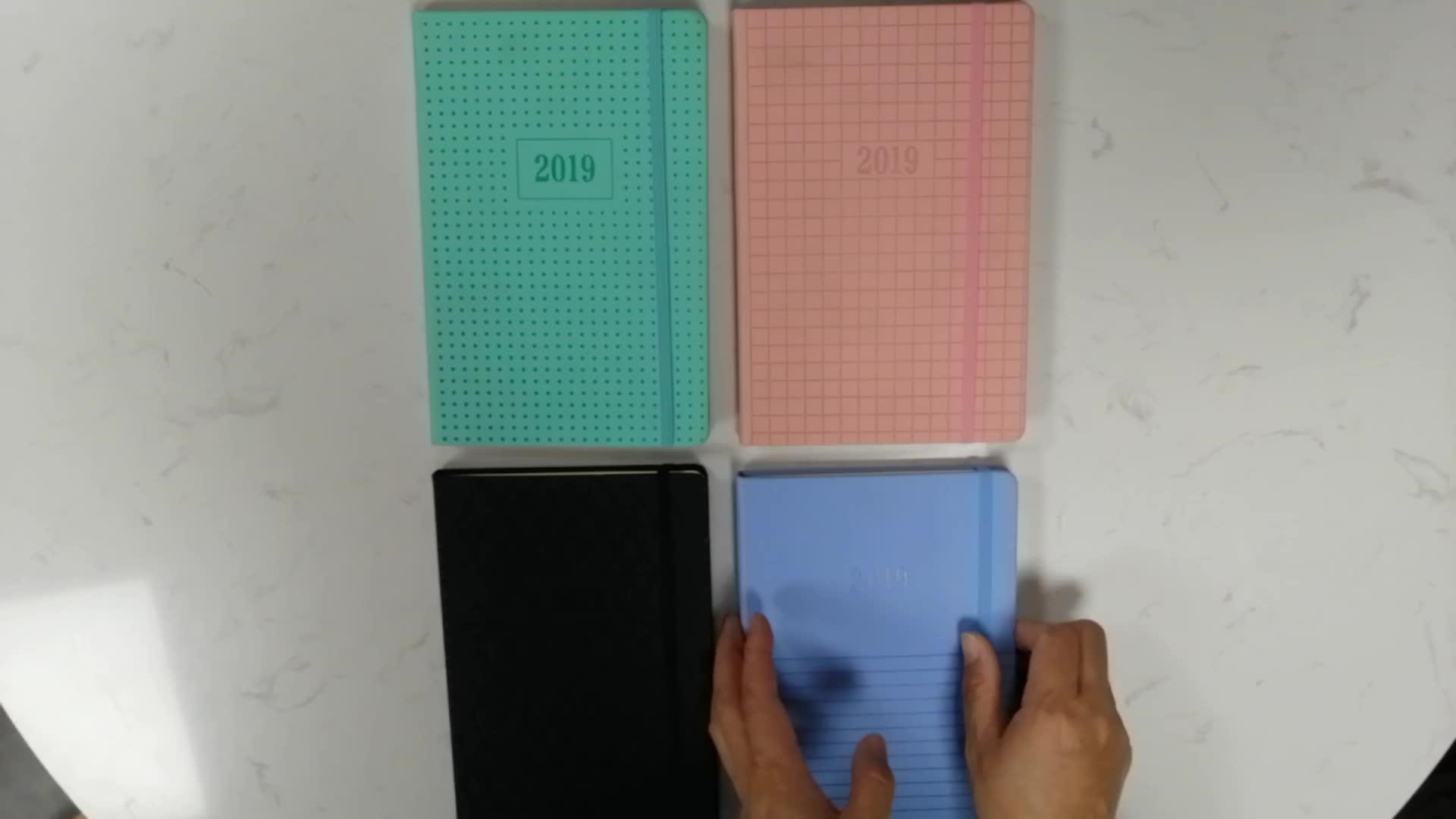 A5 toque macio PU notebook papelaria Jingu