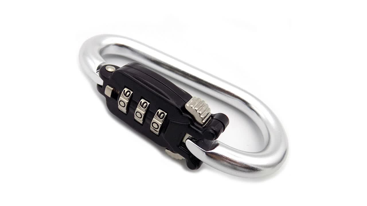 Wholesale High Quality Mountaineering Buckle Password Lock