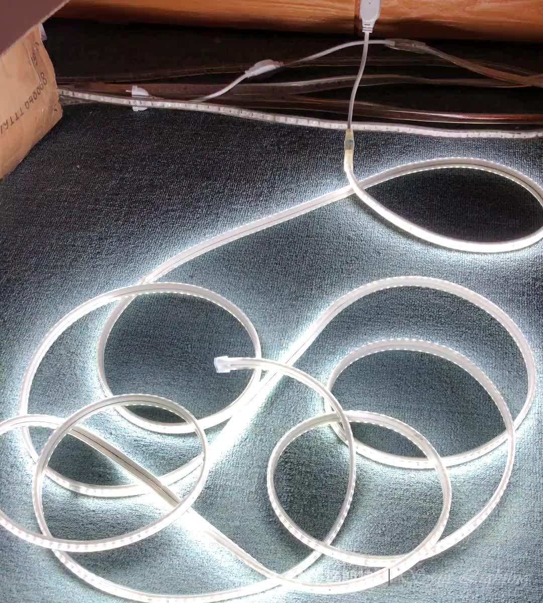 공장 \ % Sale (High) 저 (Lumen 50 m/롤 110 V IP65 방수 유연한 smd5730 220 v led strip