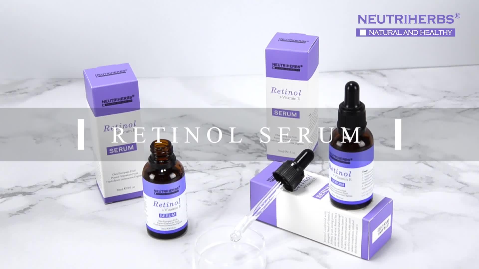 Best Anti Aging Product Neutriherbs Retinol Serum For Antioxidant VC,HA And Retino Seruml Kit